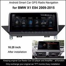 "10.25 ""Touch Android 4.4 автомобиль GPS навигации для BMW X1 E84 2009-2015 Радио аудио стерео mp5 плеер bluetooth, Wi-Fi MirrorLink"