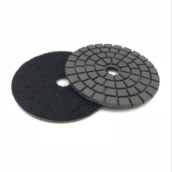4 inch 100mm white buff black buff diamond resin polishing pad for stone цена 2017
