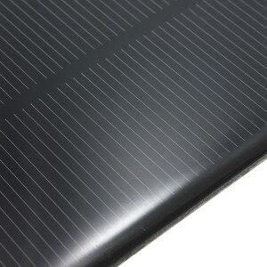 Image 4 - LEORY hurtownie 5V 1.25W 250mA Panel słoneczny krzem monokrystaliczny epoksydowa DIY ogniwa słoneczne modułem do bateria do telefonu komórkowego ładowarka