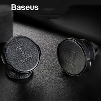 Baseus Magnetic Car Phone Holder 360 Degree Mobile Phone Holder For iPhone Samsung GPS Air Vent Mount Car Holder Stand Bracket Mobile Phone Holders & Stands