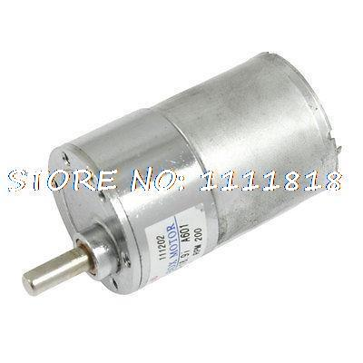37mm Dia Permanent Magnetic Planet Gear Box Motor 200 RPM DC 24V GB37RG цена