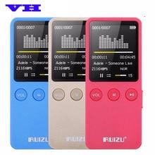 2017 nuevo Llegan 8 gb Reproductor de MP3 Con Pantalla de 1.8 Pulgadas Se Puede Jugar 200 horas, Original RUIZU X08 FM, e-libro, Reloj, Grabadora de Voz de Datos