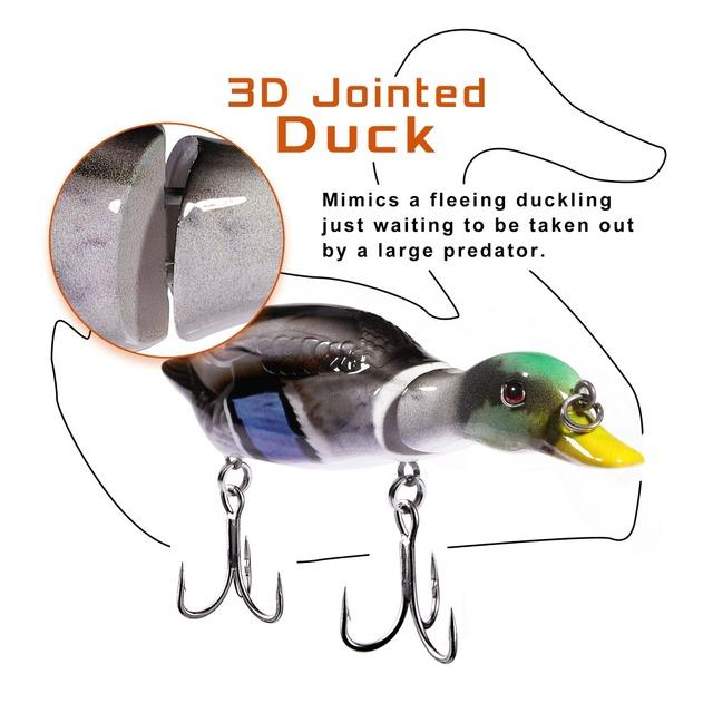 12cm 26g  Floating Duck Fishing Lure Crankbait