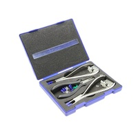 New Optical Eyeglass Rimless Disassembly Silhouette Pliers Tool Kit Free Shipping