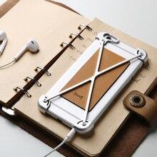 D-парк Ультра Тонкий Slim Leather Case Cover for iphone 6 s/6 анти Стучать Алюминиевый Бампер Case Металлический Каркас для iphone 6/6 s плюс(China (Mainland))
