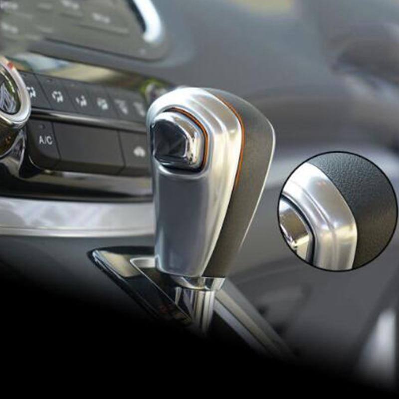 For Honda CRV CR-V Accessories 2012-16 ABS Plastic Car Gear Shift Knob Lever Shifting Handle Cover Trim Car Styling