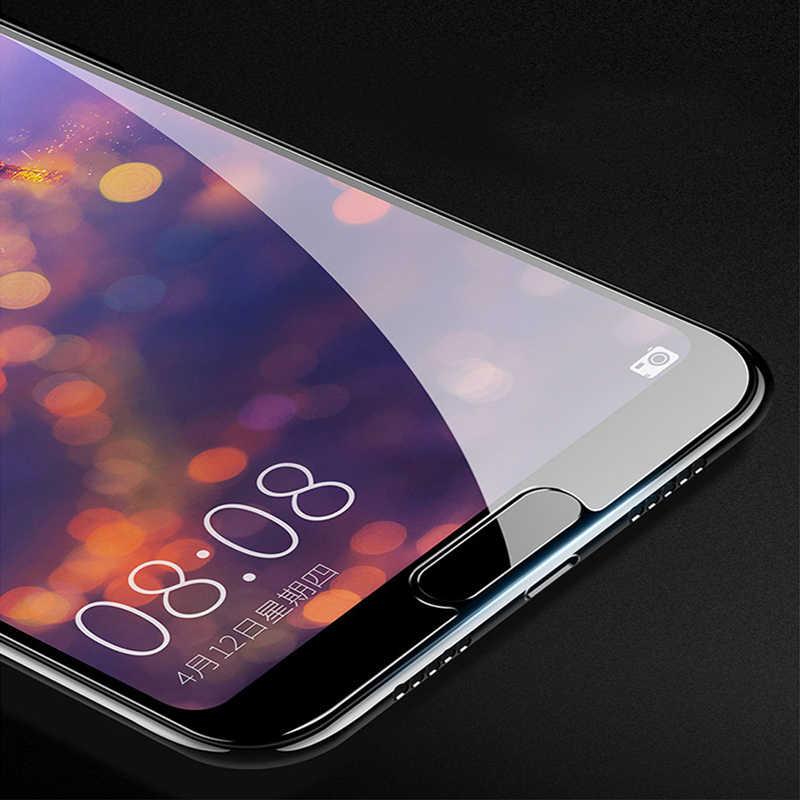 Полное покрытие Экран Защитная пленка для Huawei Mate 10 Lite Pro P20 Lite P20 Pro Y7 Y9 2018 P Smart 5D с округленными изогнутыми краями закаленное стеклянные пленки