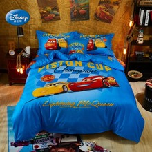 Discounts  Minnie Mouse Elsa Anna Blue Mc Queen Cars Bedding Sets Boys Girls Bedroom Decor Duvet Cover Set Double Size