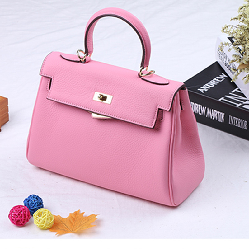 Famous Brand Woman Bags 2017 Womens Genuine Leather Handbag For Ladies Shoulder Handbags Luxury Crossbody Bag Female Bolsos New new designer woman oil wax genuine leather bag cowhide fashion day clutches long purse female ladies handbag for men famous bags