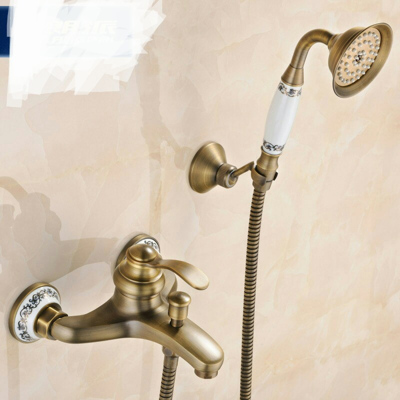 Copper Bath & Shower Faucets Bathroom Sinks,Faucets & Accessories Bathroom Fixture Home Improvement  cold &hot shower Shower
