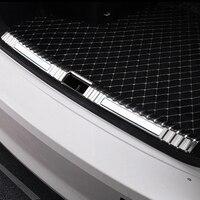 Stainless Steel Rear Inner Trunk Bumper Guard Plate Protector 1pcs For Skoda Octavia A7 MK3 Sedan 2014 2019