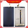 100% Original for LEAGOO Elite 5 LCD Display Touch Screen Digitizer Assembly Replacement Free Tools black and white