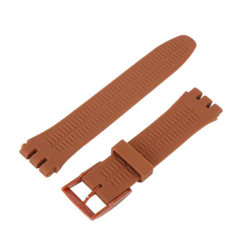 *Watch Strap Silicone 17mm 19mm 20mm Width Straps Watchbands Men's Women's Watch Accessories*