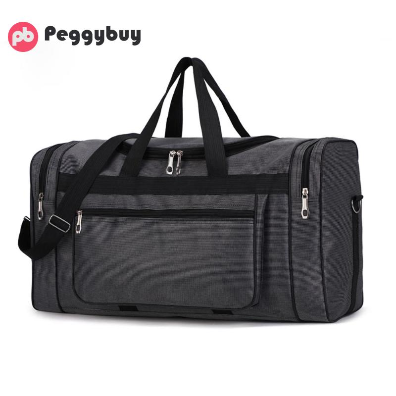Waterproof Men Sports Gym Bags New Leisure Yoga Fitness Bag Women Travel Handbag Large Capacity Nylon Portable Travel Bag