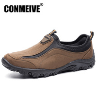 Hot Sale Winter Shoes Men Slip on Breathable Canvas Fashion Casual Mens Light Flat Men's Loafers Luxury Brand Flats Male Shoe