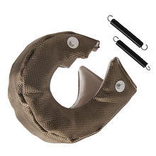 1 Set Universal Car T3 Turbo Charger Heat Shield Cover Blanket Glass Fiber Protection Wrap For T3 T25 / T28 / GT25 / GT28 Etc(China)