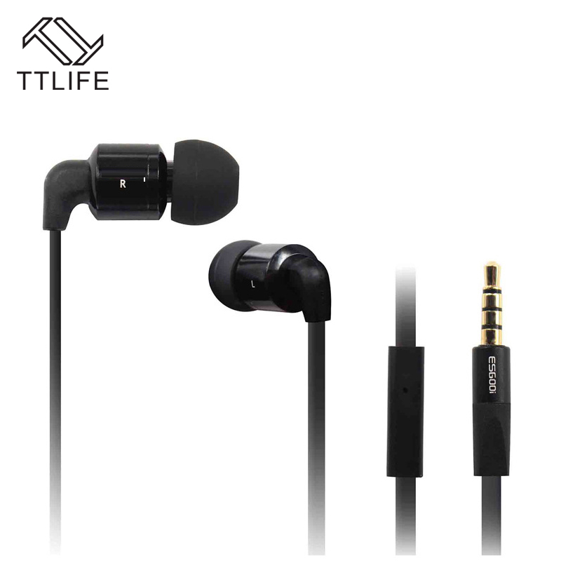 TTLIFE Hot Super Bass Stereo Music In Ear Earphone 3.5mm Jack Earbud fone de ouvido For MP3 Player iPhone Samsung fone de ouvido vention vae t03 earphone 3 5mm in ear bass stereo earbud with remote mic for samsung mp3 player