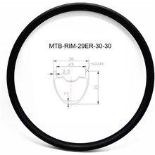 Графен 29er AM 30x30 мм карбоновые mtb диски 25 мм внутренняя ширина гоночный велосипед бескамерный горный велосипед обод 380 г mtb ободки дисков