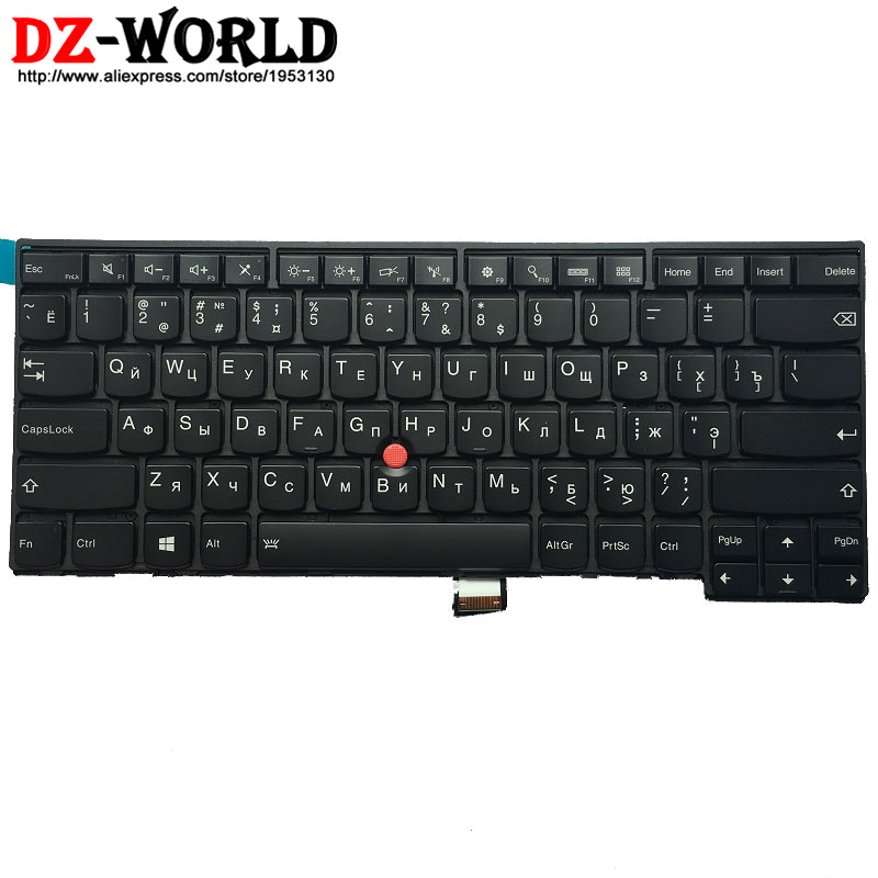 New/Orig for Thinkpad T440 T440S T431S T440P T450 T450S T460 Backlit Keyboard Russian Backlight Teclado 04X0124 04X0162 0C43929