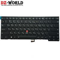 New Original For Lenovo Thinkpad T440 T440S T431S T440P T450 T450S T460 Keyboard Teclado Russian Backlit