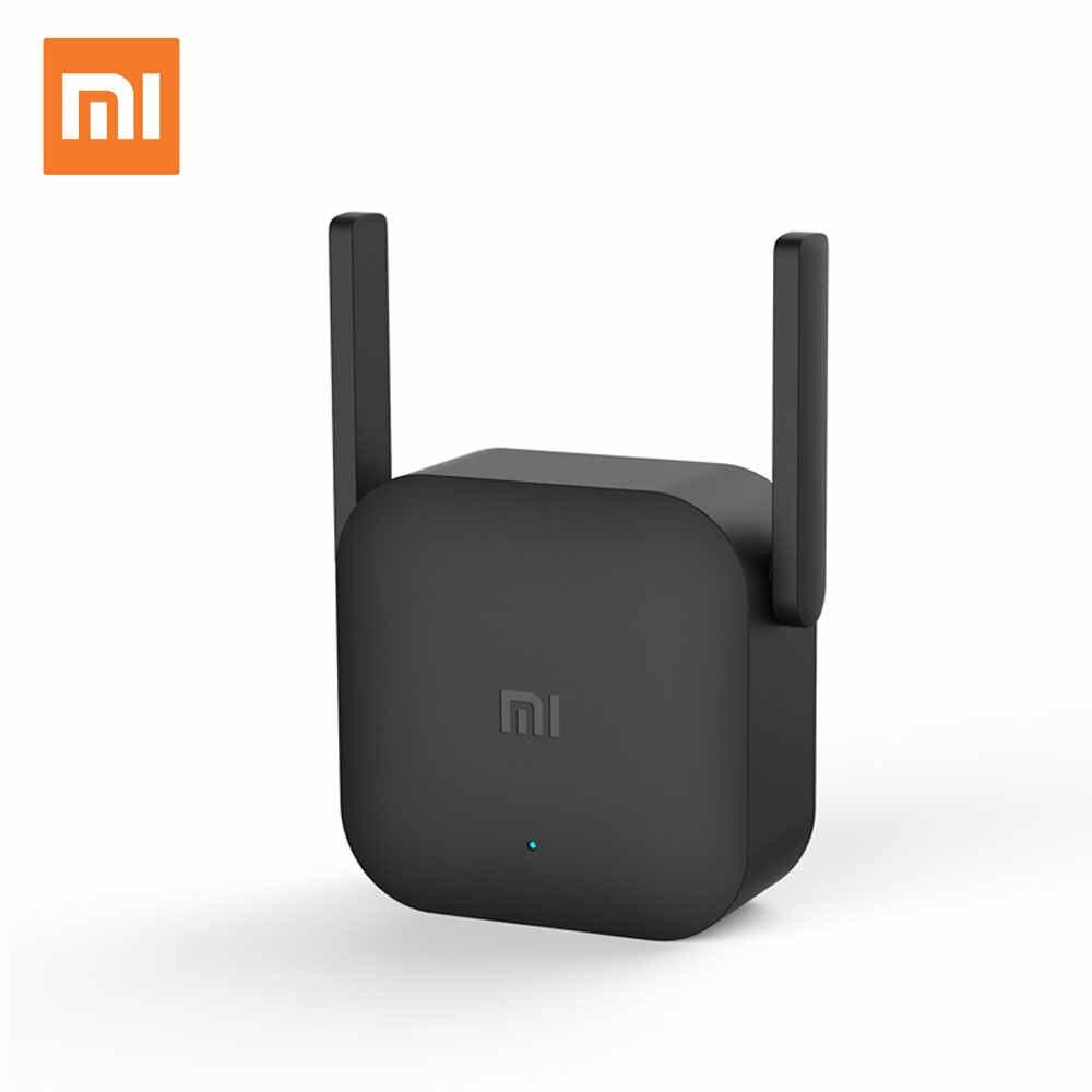 Xiaomi Router WiFi amplificador Pro 300 Mbps Repetidor de señal cubierta extensor Router 2 Repetidor Router inalámbrico mi Repetidor