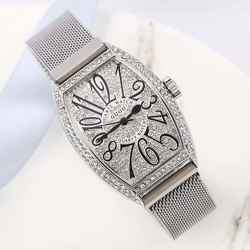Top Luxury Women Watches Women Rose Gold Quartz Dress Watches Rhinestone Barrel Casual Women Watches montre femme reloj mujerTop Luxury Women Watches Women Rose Gold Quartz Dress Watches Rhinestone Barrel Casual Women Watches montre femme reloj mujer