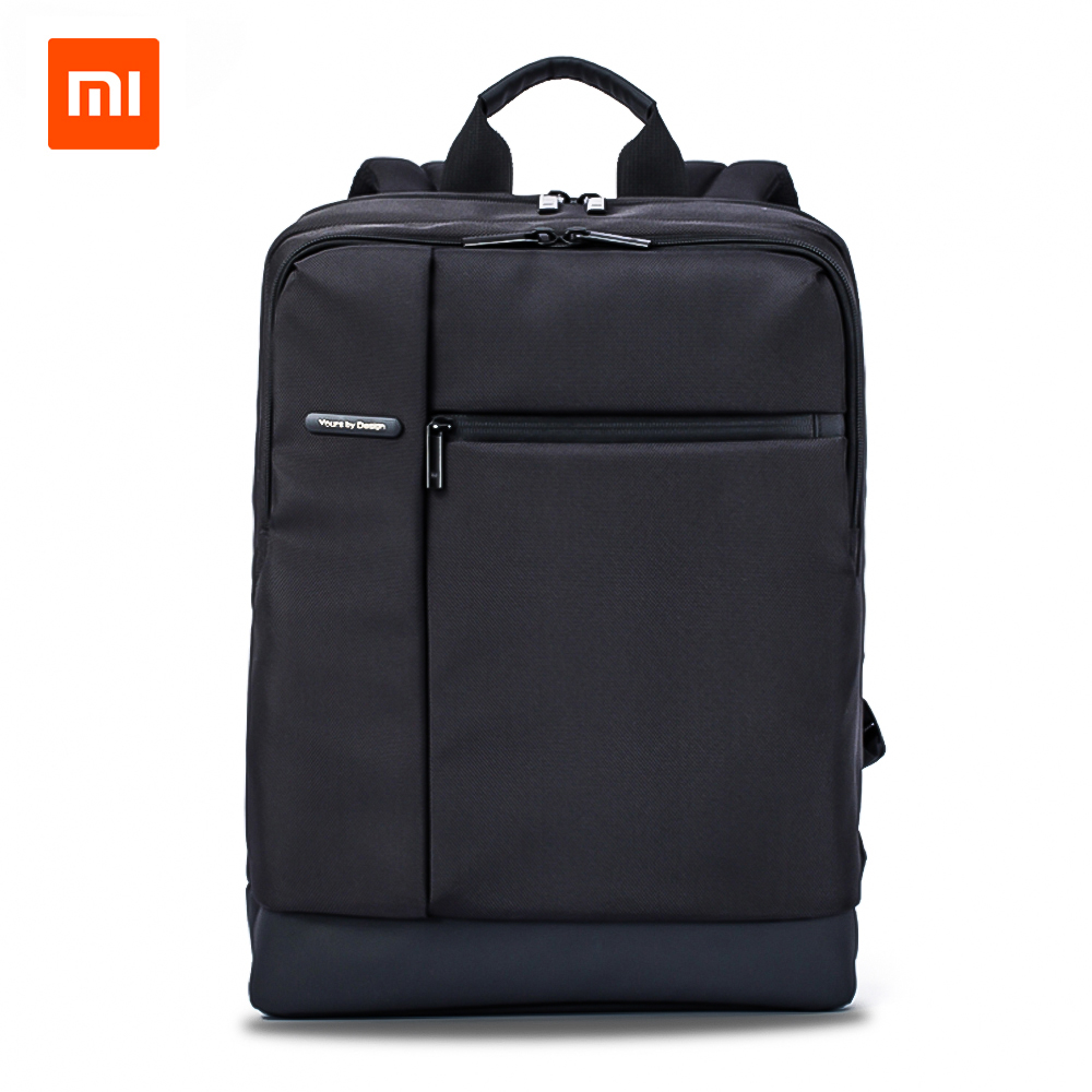 Original Xiaomi Classic Business Rygsæk Teenagers Taske Stor Kapacitet Skole Rygsæk Studenter Tasker Egnet til 15inch Laptop
