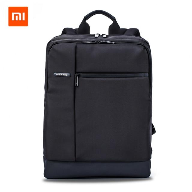Оригинальный Xiaomi классический деловой рюкзак Подростковая сумка большой  емкости школьный рюкзак школьные сумки подходит для 15 62d30f32342