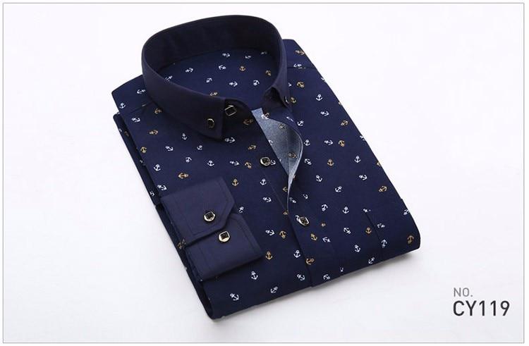 HTB1i3zcLpXXXXaWXVXXq6xXFXXXD - 2017 Retro Floral Printed Man Casual Shirts Fashion Classic Men Dress Shirt