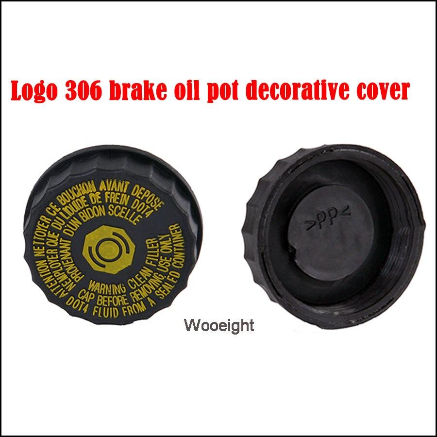 Car 16 133 288 80 1613328880 4643 42/4643 38 Brake Fluid Oil Pot Tank Cover For Citroen Peugeot 206 207 307 308 408 508 C2 C5