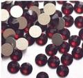 Prego frete grátis Art Rhinestone cor granada SS30 ( 6.3 - 6.5 mm ) 288 unidades/pacote não Hotfix cristal Flatback pedras