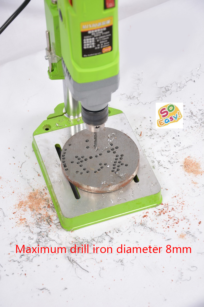 Electric bench drill 710W Mini drill Press Variable Speed 1-13mm drilling For DIY Wood Metal Electric Tools