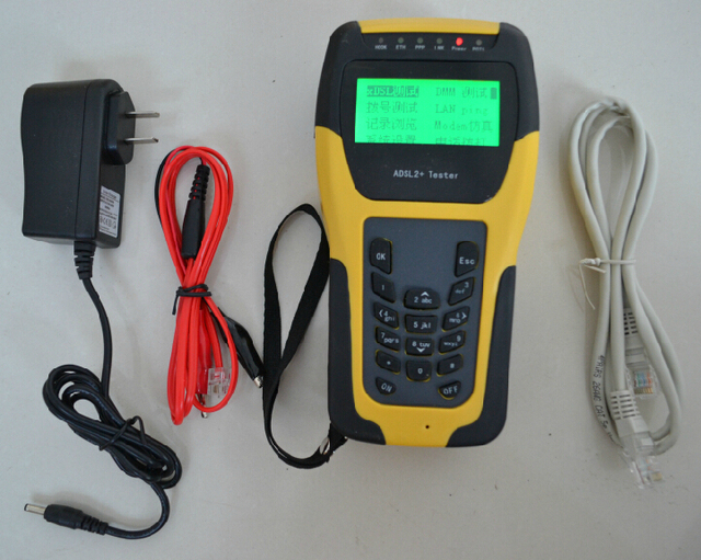 Free Shipping Senter ST332B Multi-functional ADSL2+ Tester / ADSL Tester / ADSL Installation and Maintenance Tools