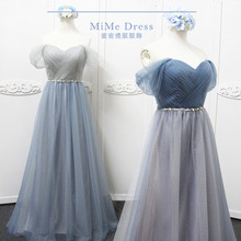 Long Bridesmaid Dress Sweetheart Tulle Cheap Pleated Prom Dresses Under $50 Junior  colourfulBridesmaid Gown Dama