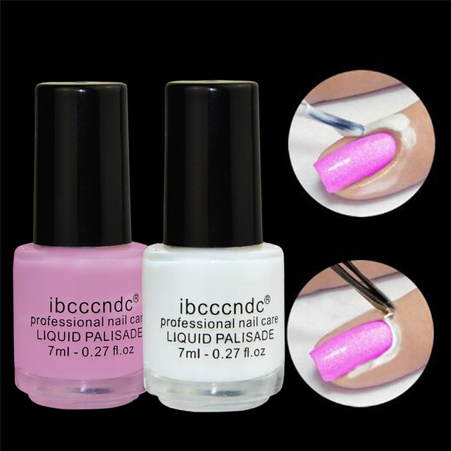 New liquid palisade nail art finger skin protected art tape latex ...