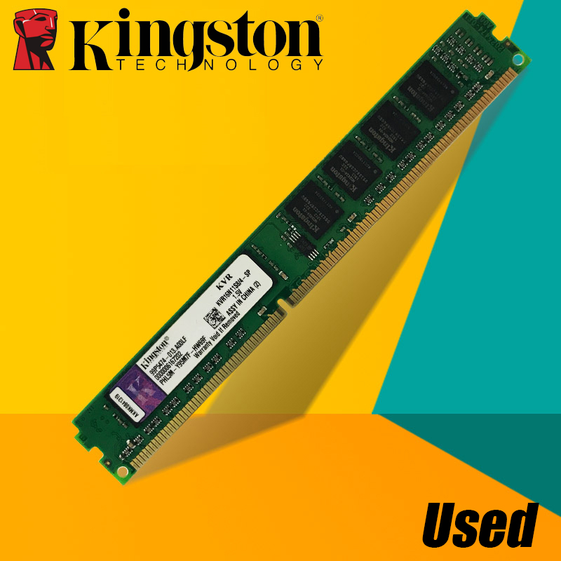 Se Kingston PC de escritorio Memoria RAM Memoria para DDR2 800 667 MHz PC2 6400 8 GB 4 GB 2 GB 1 GB DDR3 1600 1333 PC3-10600 12800