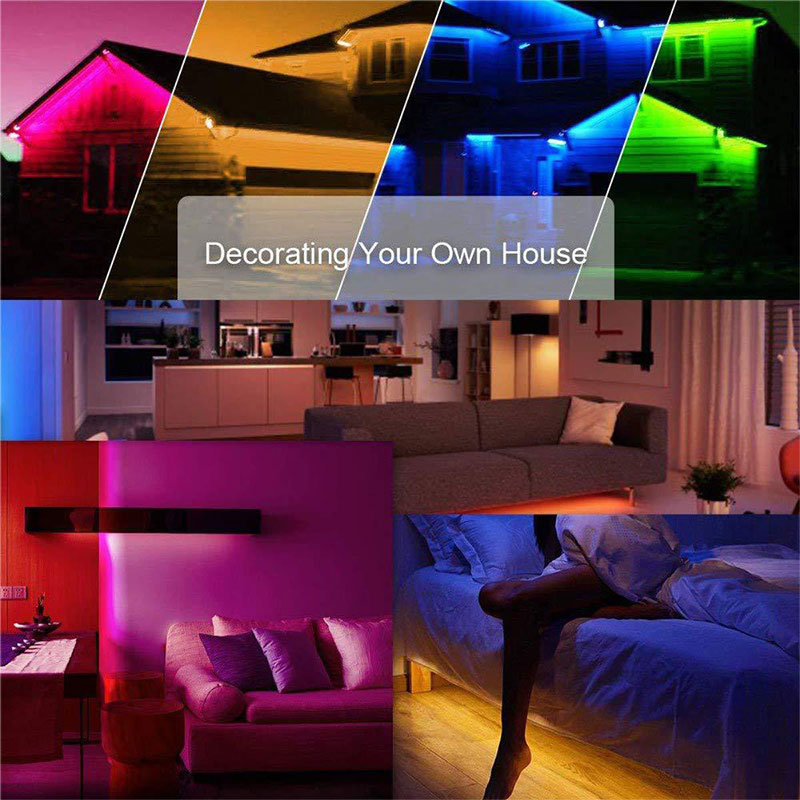 Led Strip Light 5M 10M Wifi RGB Waterproof Diode Tape Support Voice Control 3G 4G 5G Smart Phone APP Control For Home Decoration in LED Strips from Lights Lighting