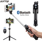 JOYTOP Foldable Selfie Stick Bluetooth Selfie Stick+Tripod+Bluetooth Shutter Remoter Tripod for iPhone Android Selfie Sticks