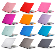 22 colors Rubberized Hard Cover Case Sleeve for apple Macbook Air 11 12 13 Pro 13 15 Retina Protective Case цена и фото