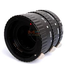 Meike Plastic ABS Auto Focus Macro Extension Tube Set for Canon D SLR Camera