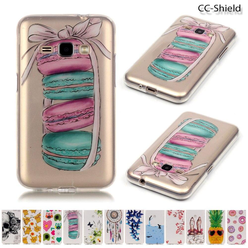 Soft Silicone Case for Samsung Galaxy J1 2016 SM-J120F SM-J120FN SM-J120H Phone Fitted Case for Galaxy J 1 2016 J120F J120FN bag