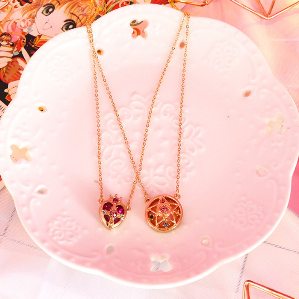 Japanese Anime Sailor Moon Pendant Choker Collar Necklace Tsuking Usagi Cosplay