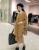 [XITAO] europa moda 2016 mulheres outono inverno cor sólida dois peiece define O-pescoço cardigan top + calças cintura elástica HJF017