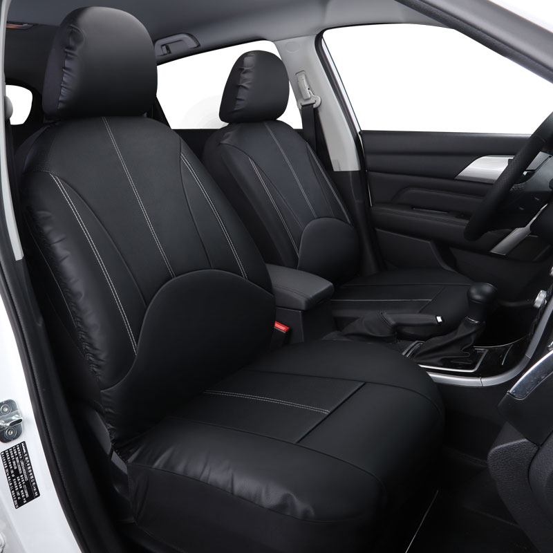 car seat cover covers auto interior accessories leather for dodge avenger caliber challenger. Black Bedroom Furniture Sets. Home Design Ideas