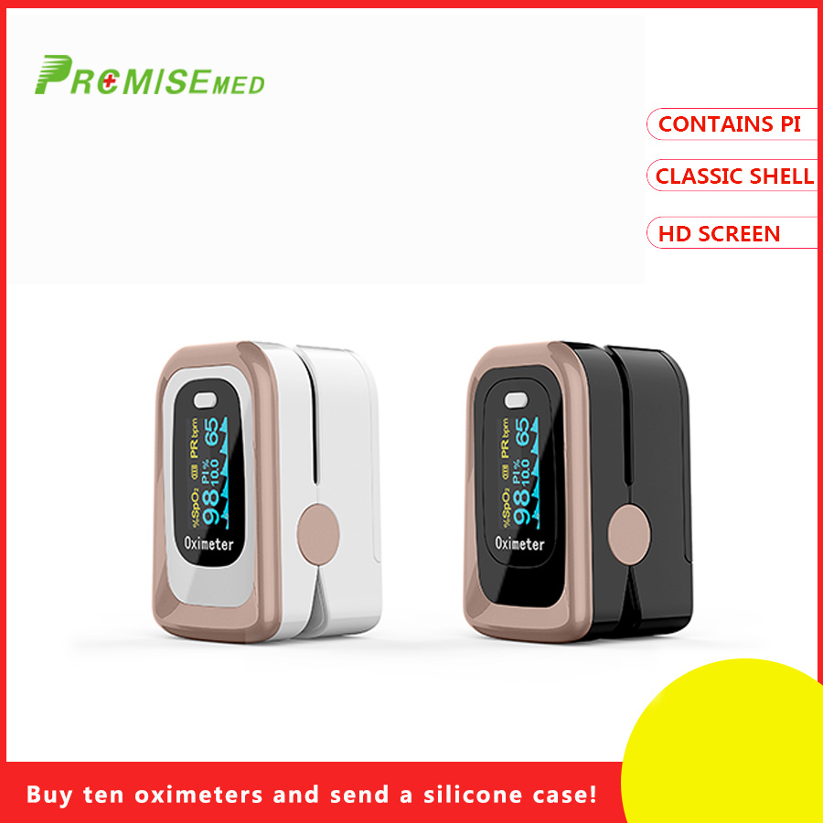 PR + MISE oxímetro de pulso FDA SPO2 PI função digital monitor de oxigênio no sangue PR