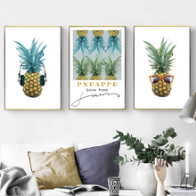 Creatively Pineapple Wall Art Canvas Pictures Paintings Nordic Minimalist Poster Print for Living Room Home Decor Drop Shipping