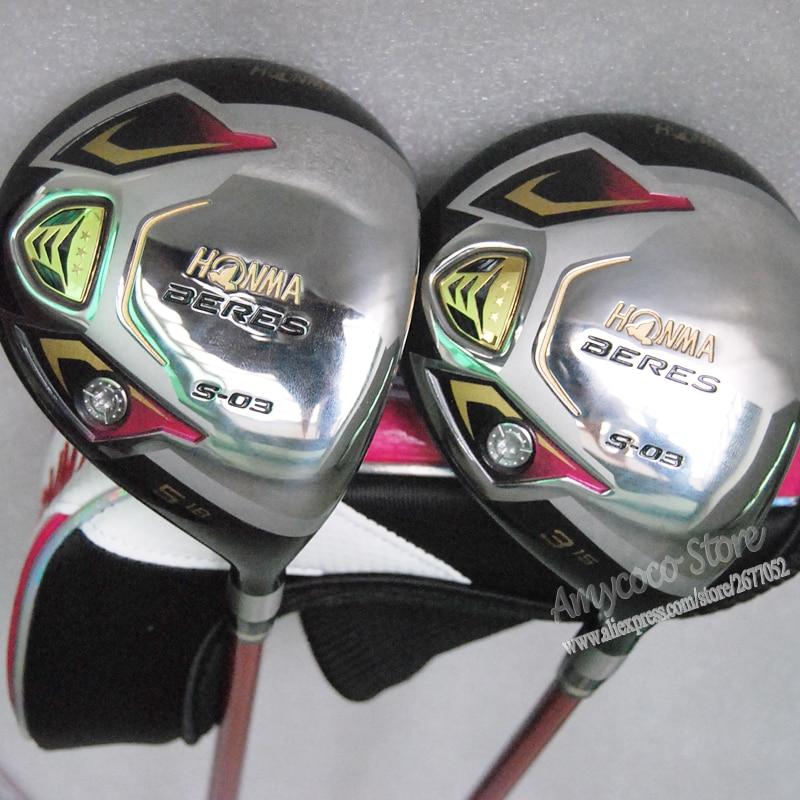 Νέα Γυναικεία Γκολφ Clubs Honma S-03 3star - Γκολφ - Φωτογραφία 3