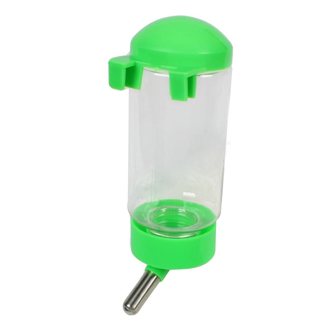 Горячая собачка, собака висячая бутылка для воды дозатор для домашних животных зеленый прозрачный 300 мл