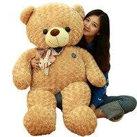 Высокое качество Большой плюшевый медведь плюшевые куклы 100 см 120 см Размеры жира Мишка Мягкая кукла плюшевый мишка игрушка подарок для дево
