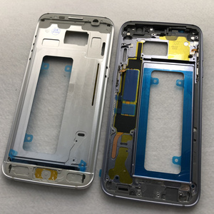 Image 5 - S7 Middle Frame Battery Back Cover For Samsung Galaxy G930F G935F G930FD G935FD S7 Edge Full Housing With Touch Glass Lens